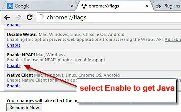 Play Chess -- Forum : Updating Google Chrome can break Java