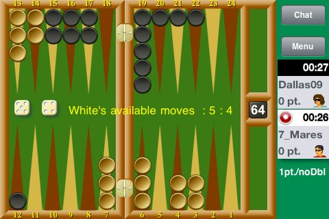 how to play backgammon live
